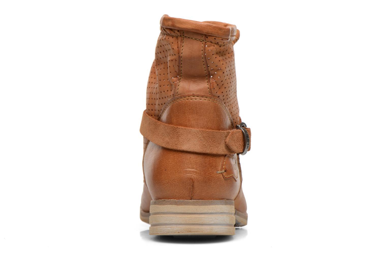 Bottines et boots Bunker Esther Mine Marron vue droite