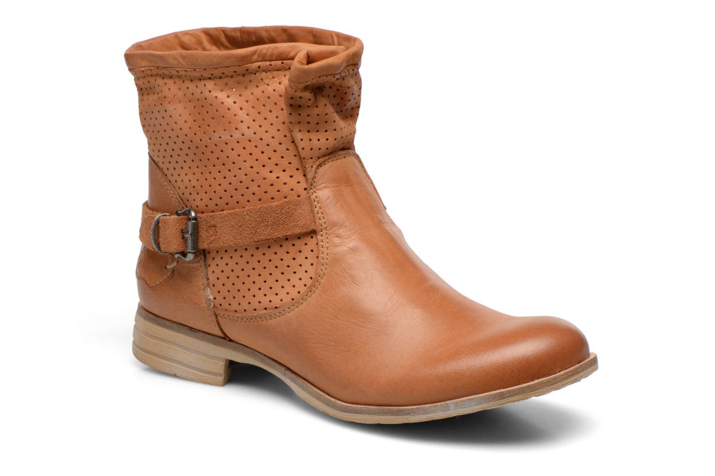 Bottines et boots Bunker Esther Mine Marron vue détail/paire