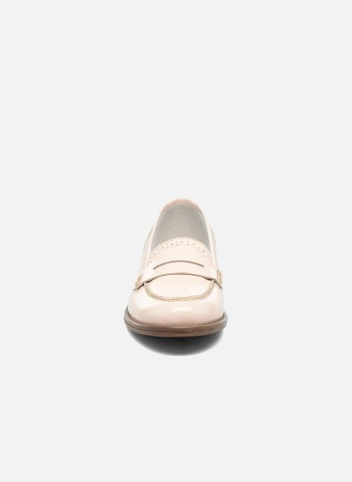 Mocassins Georgia Rose Ananda Beige vue portées chaussures