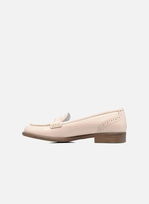 Mocassins Georgia Rose Ananda Beige vue face