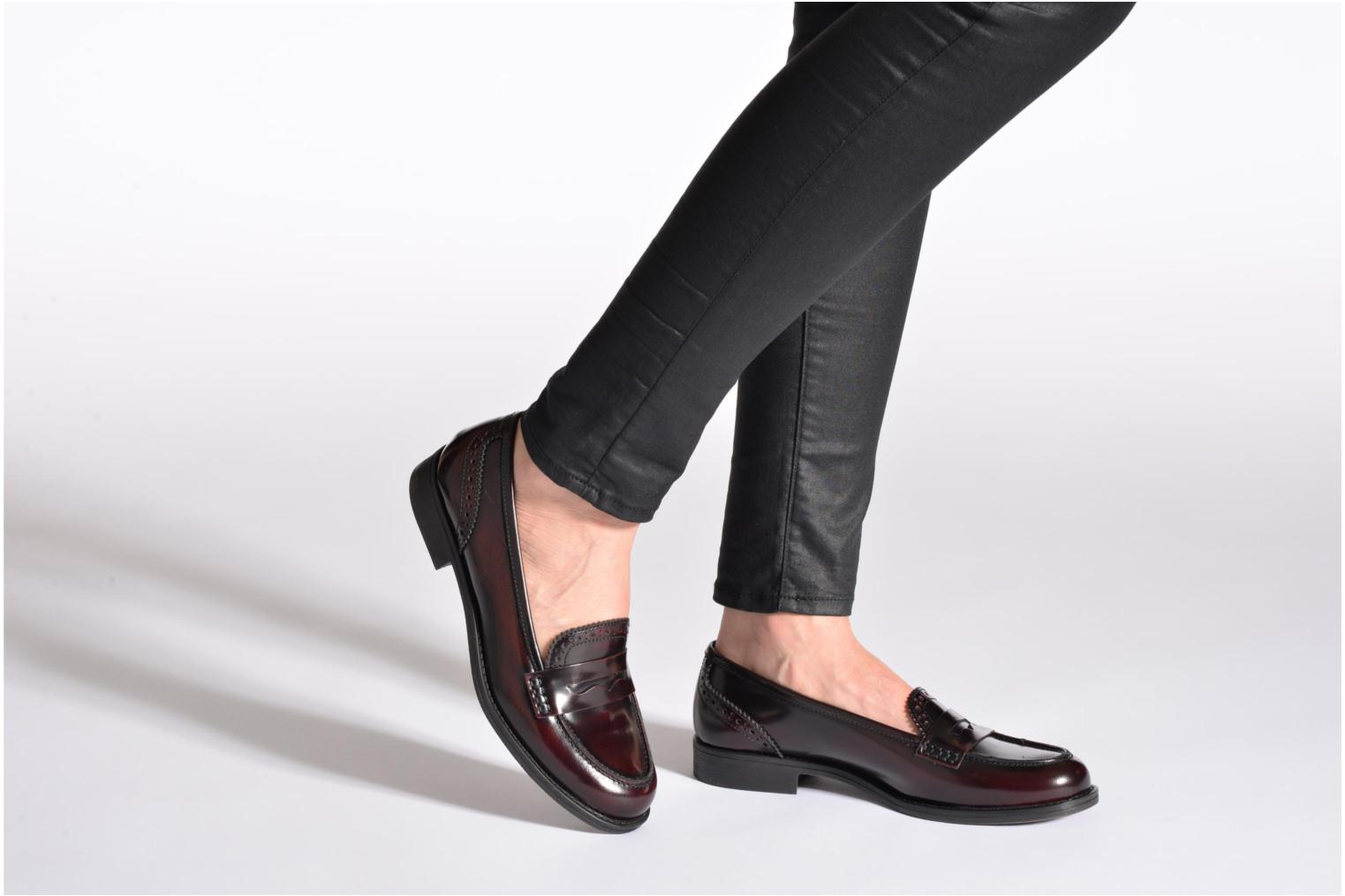Loafers Georgia Rose Ananda Black view from underneath / model view