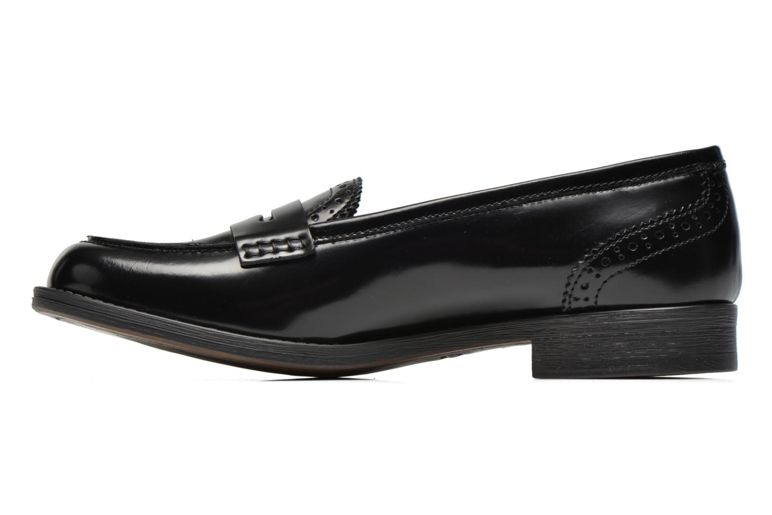 Loafers Georgia Rose Ananda Black front view