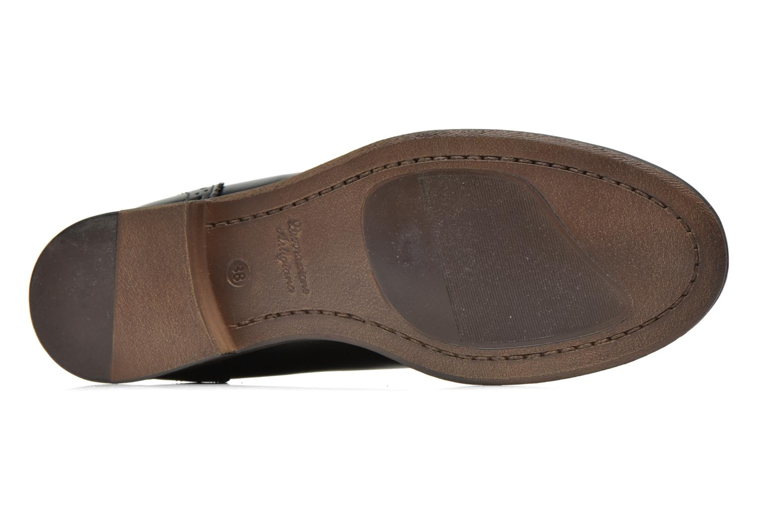 Loafers Georgia Rose Ananda Black view from above