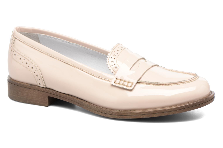 Loafers Georgia Rose Ananda Beige detaljeret billede af skoene