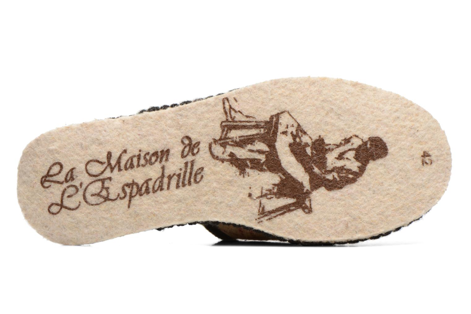 Slippers La maison de l'espadrille Maurice 2 Beige view from above