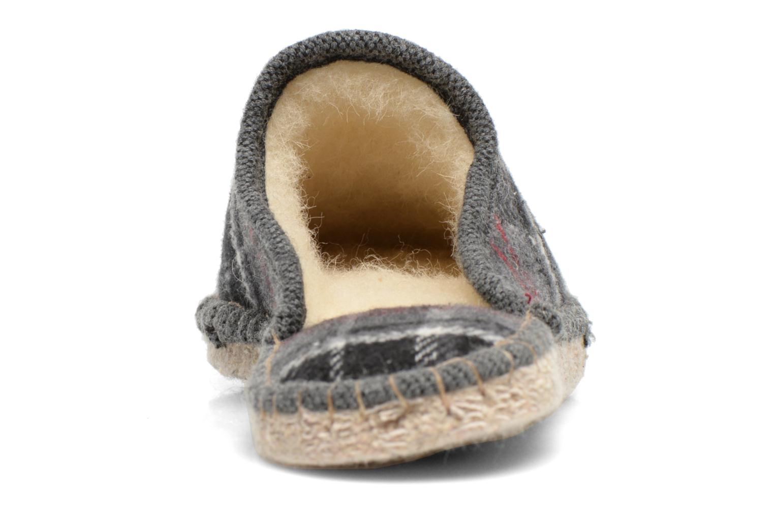 Slippers La maison de l'espadrille Maurice 2 Grey view from the right