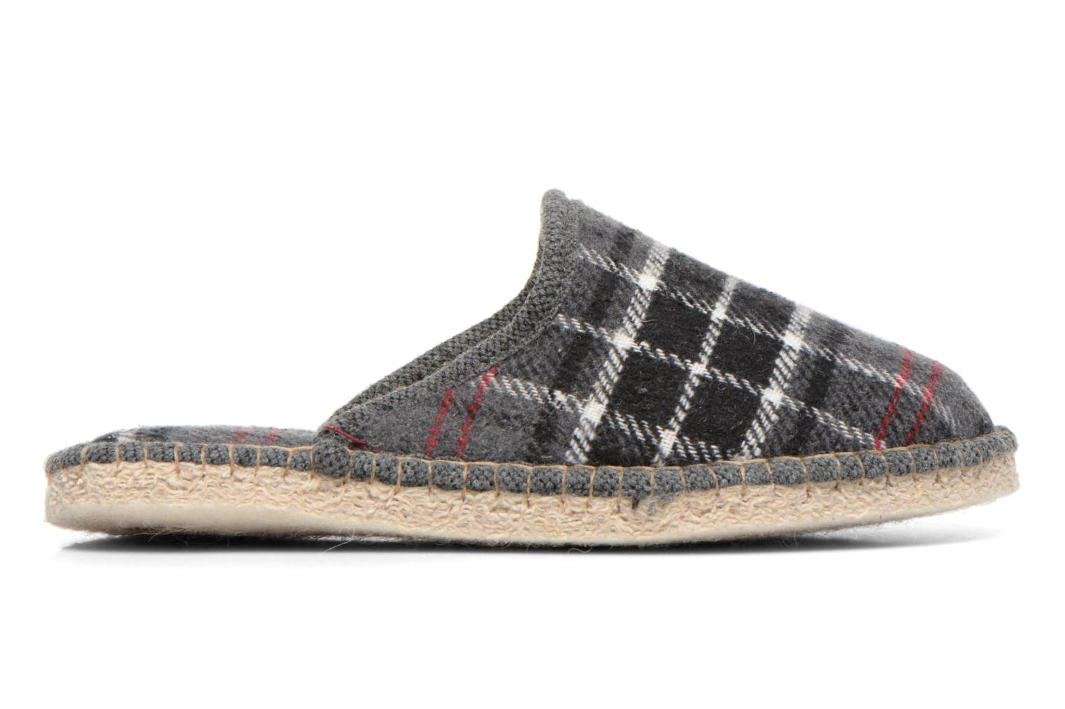 Slippers La maison de l'espadrille Maurice 2 Grey back view