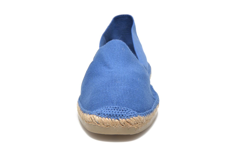 Espadrilles Pare Gabia VP Toile Femme Bleu vue portées chaussures