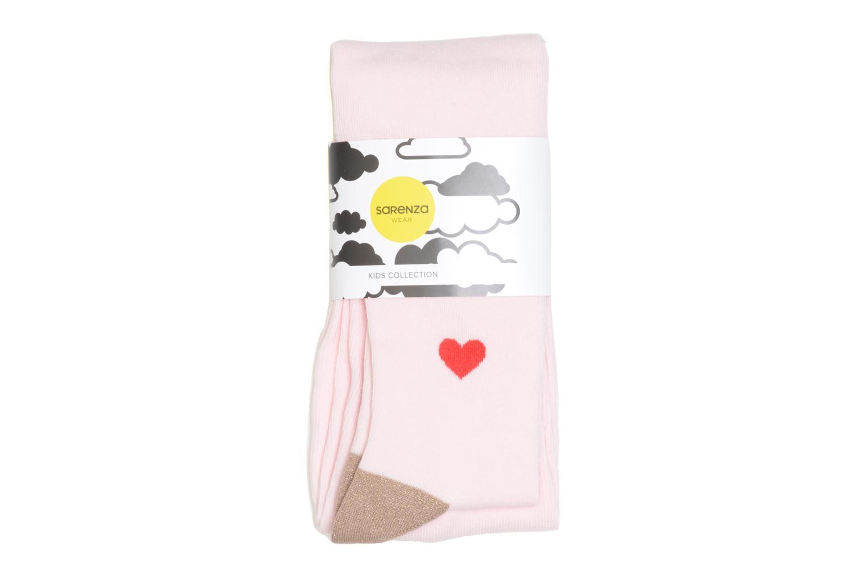 Chaussettes et collants Sarenza Wear Collant coeur Rose vue détail/paire