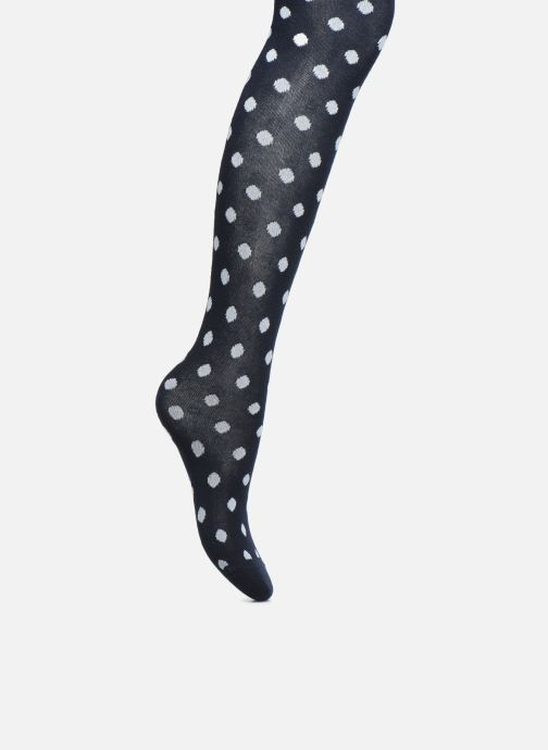 Socks & tights Sarenza Wear Tights pois Blue detailed view/ Pair view