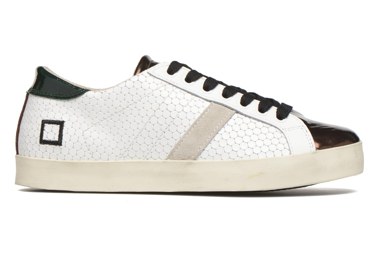 Sneakers D.A.T.E Hill Low Pong Hvid se bagfra