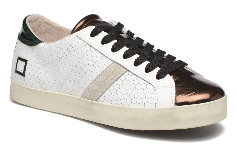 Sneakers D.A.T.E Hill Low Pong Hvid detaljeret billede af skoene