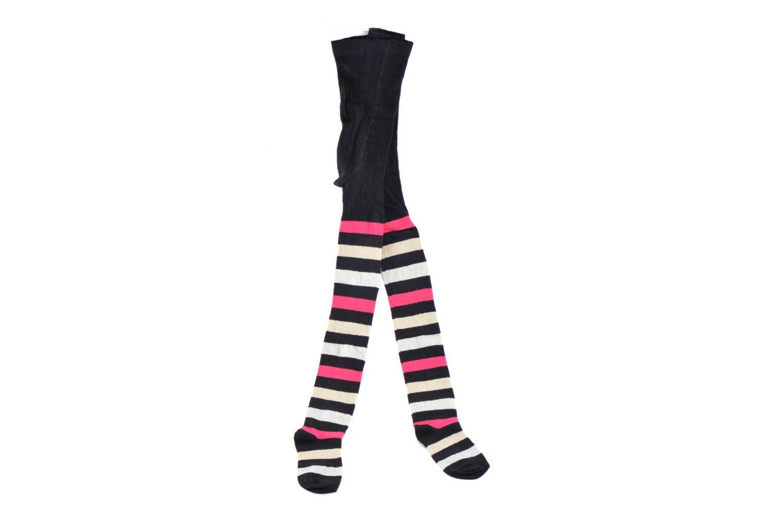 Chaussettes et collants Sarenza Wear Collant Rayé Multicolore vue portées chaussures