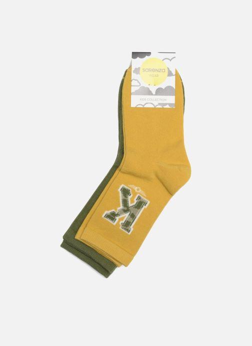 Socken & Strumpfhosen Sarenza Wear Socken Chevrons 2er-Pack grün ansicht von rechts
