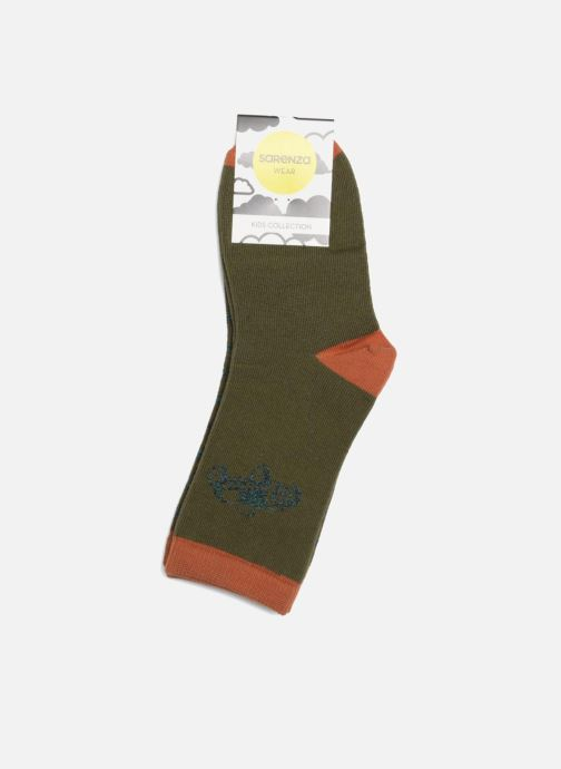 Socks & tights Sarenza Wear Socks Fantaisie Pack of 2 Green view from the right