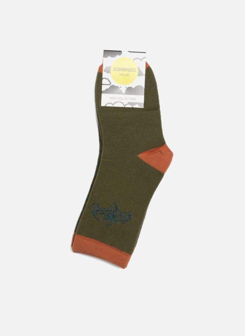 Chaussettes et collants Sarenza Wear Chaussettes Fantaisie Pack de 2 Vert vue droite