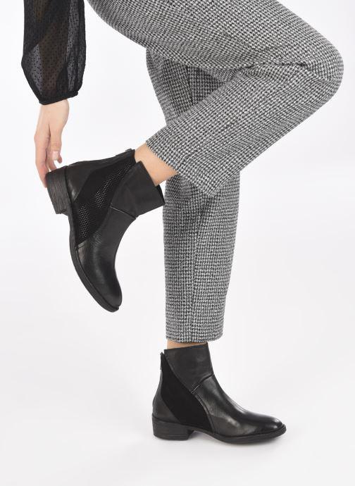 Bottines et boots Khrio Emma Noir vue bas / vue portée sac