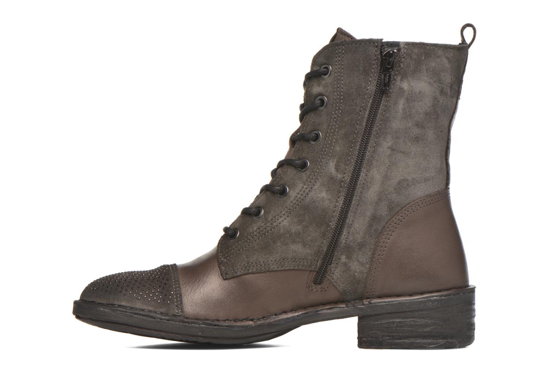 Bottines et boots Khrio Sylvia Beige vue face