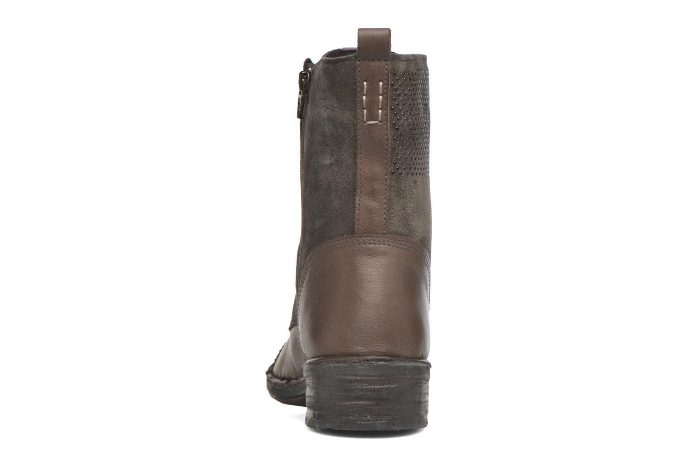 Bottines et boots Khrio Sylvia Beige vue droite