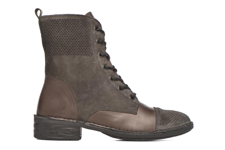 Bottines et boots Khrio Sylvia Beige vue derrière