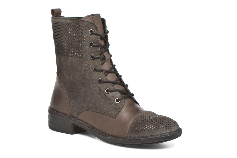 Bottines et boots Khrio Sylvia Beige vue détail/paire