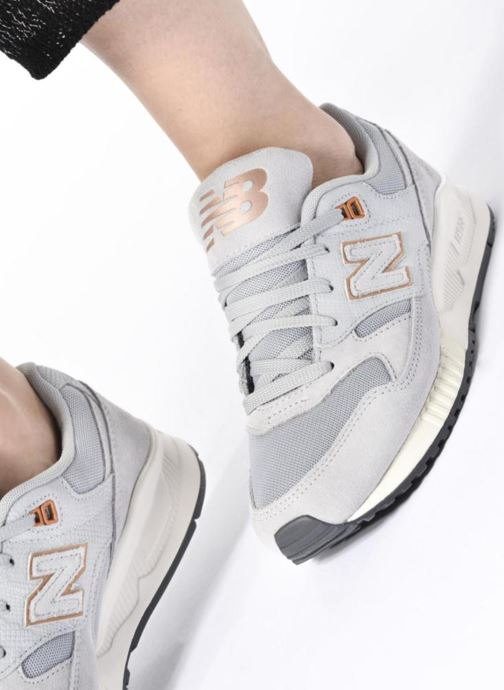 Trainers New Balance W530 Blue view from underneath / model view