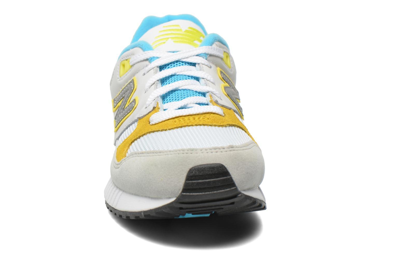 Baskets New Balance W530 Blanc vue portées chaussures