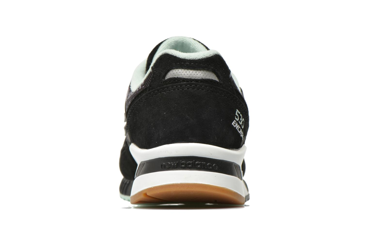 Trainers New Balance W530 Black view from the right