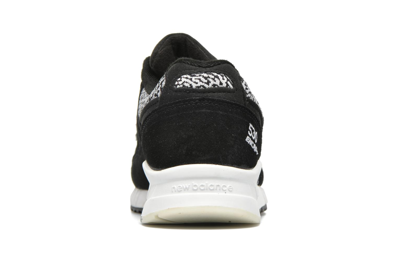 Baskets New Balance W530 Noir vue droite