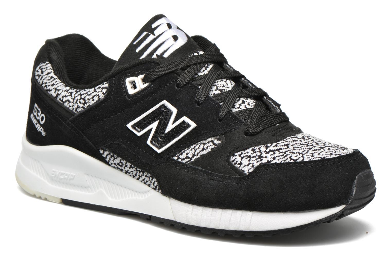 Sneakers New Balance W530 Sort detaljeret billede af skoene