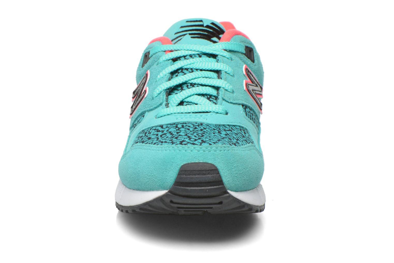 Sneaker New Balance W530 blau schuhe getragen