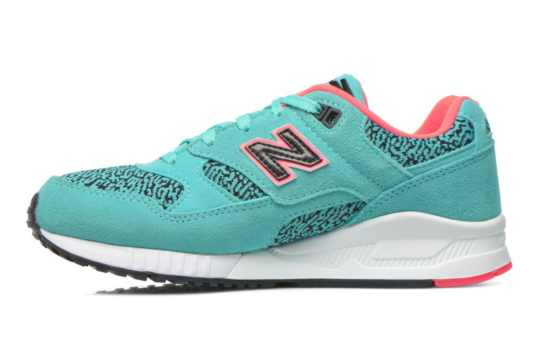 Sneakers New Balance W530 Azzurro immagine frontale