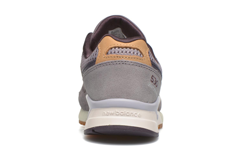 Sneaker New Balance W530 lila ansicht von rechts