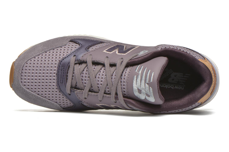 Sneaker New Balance W530 lila ansicht von links