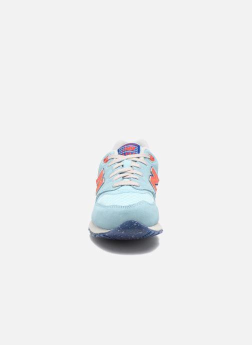 Sneaker New Balance WL999 blau schuhe getragen