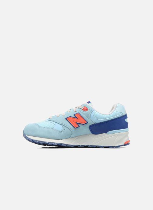 Sneaker New Balance WL999 blau ansicht von vorne
