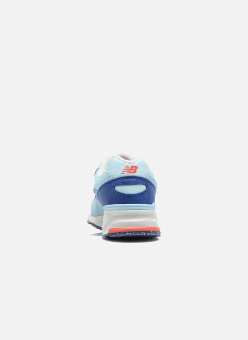 Sneakers New Balance WL999 Blå Se fra højre