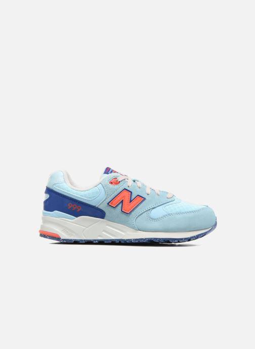 Sneaker New Balance WL999 blau ansicht von hinten