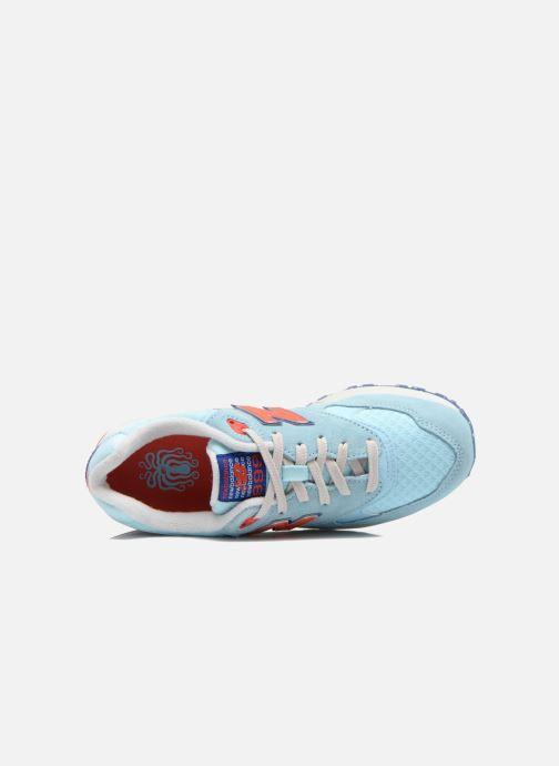 Sneakers New Balance WL999 Blå se fra venstre