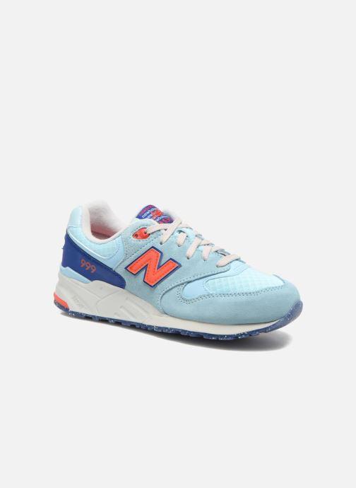 Sneakers New Balance WL999 Blå detaljeret billede af skoene