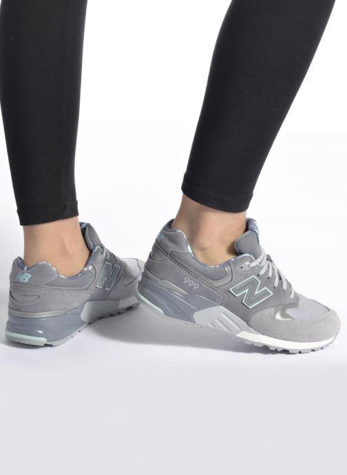 Sneakers New Balance WL999 Grigio immagine dal basso