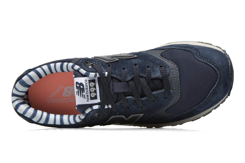 Baskets New Balance WL999 Bleu vue gauche