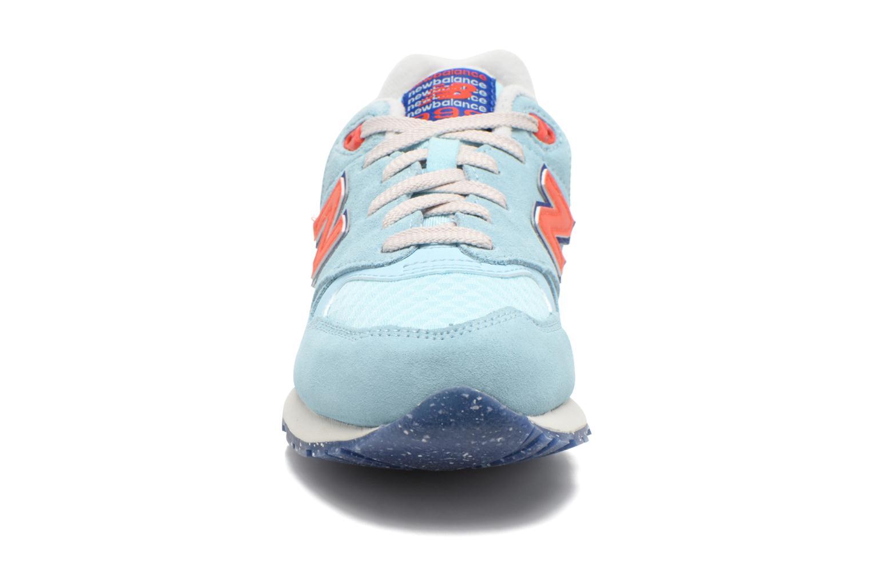 Baskets New Balance WL999 Bleu vue portées chaussures