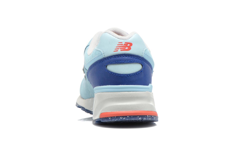 Baskets New Balance WL999 Bleu vue droite