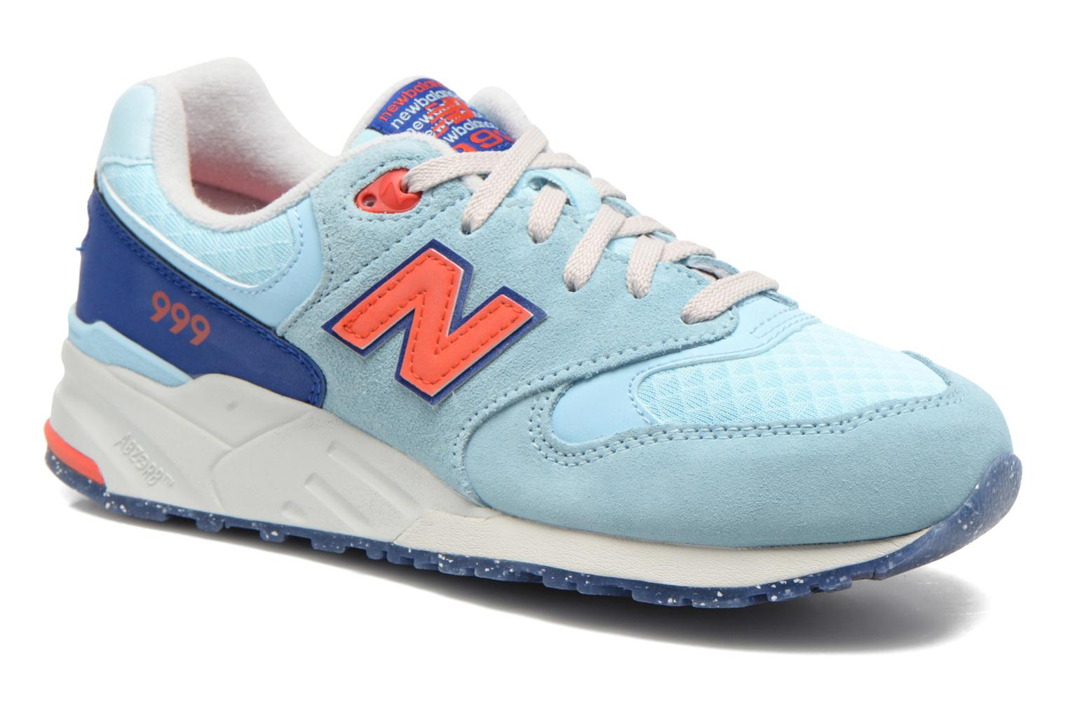 Trainers New Balance WL999 Blue detailed view/ Pair view
