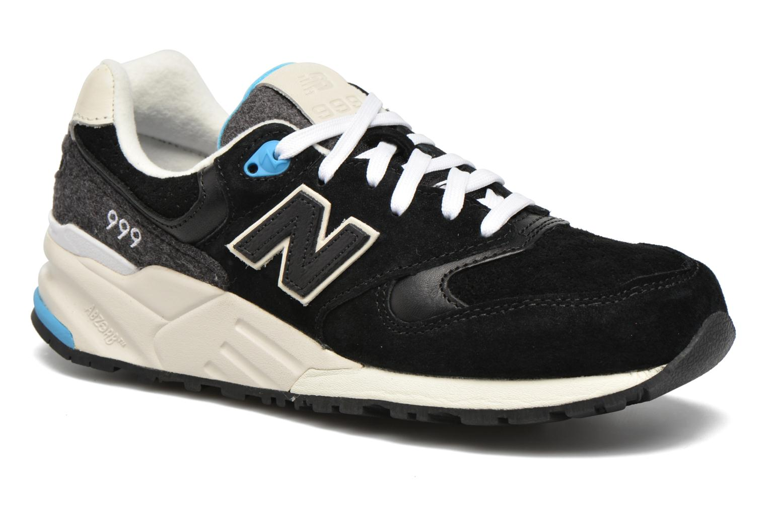 Trainers New Balance WL999 Black detailed view/ Pair view