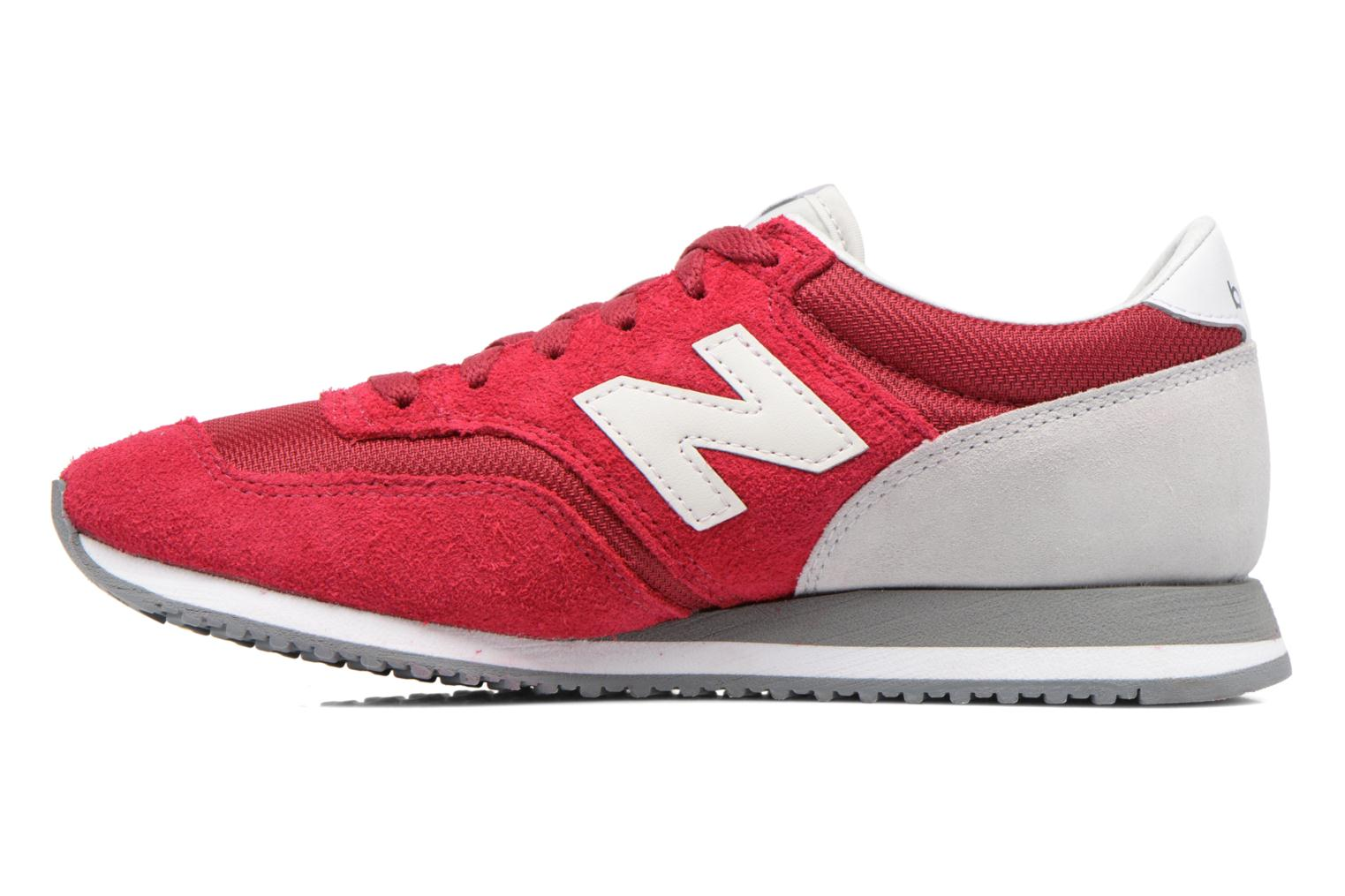 Baskets New Balance CW620 Rouge vue face