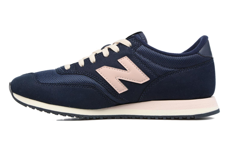 Sneakers New Balance CW620 Blauw voorkant