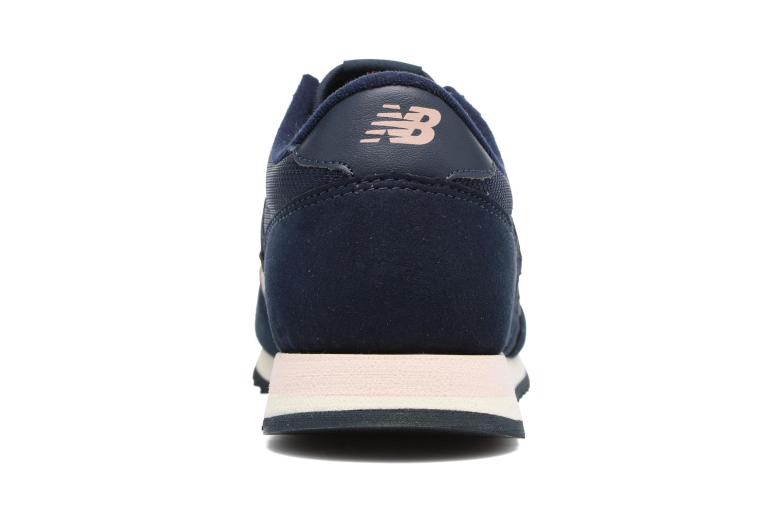 Sneakers New Balance CW620 Blå Se fra højre