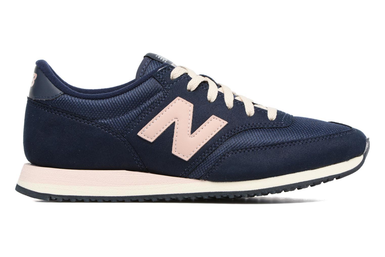 Sneaker New Balance CW620 blau ansicht von hinten